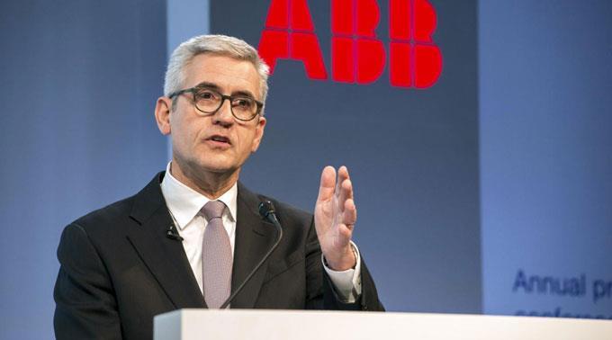 ABB-Chef Ulrich Spiesshofer sahnt ab.