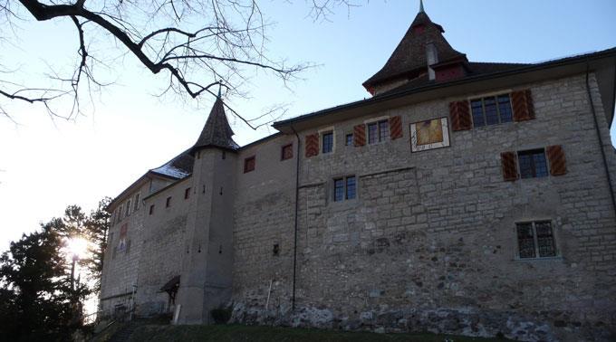 Die Kyburg bei Winterthur.