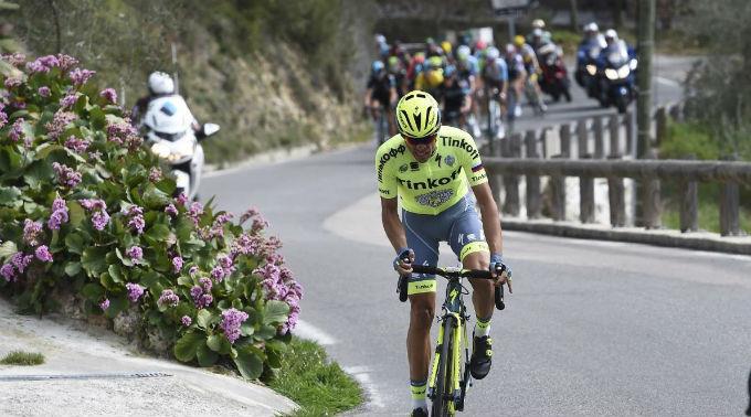 Alberto Contador fuhr bei der 3. Etappe auf Rang 2. (Archivbild)