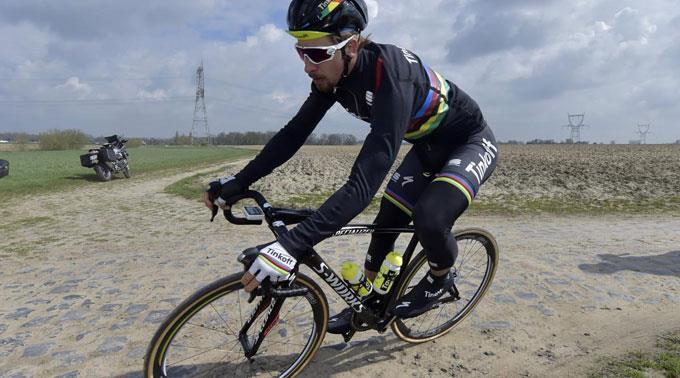 Der Slowake Peter Sagan bereitet sich einmal mehr in der Schweiz auf die Tour de France vor. (Archivbild)